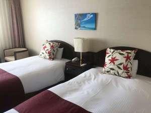 ホテル鶴:ツインルーム上質な空間でリラックス