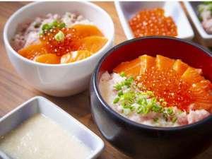 湯の川プリンスホテル渚亭:よくばり丼