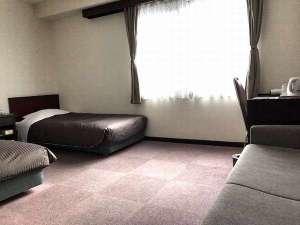 ニュー富良野ホテル:ツインルーム