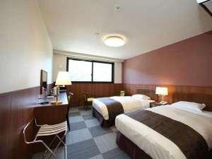 ねざめホテル:別館には洋室ツインルームもご用意いたしました。