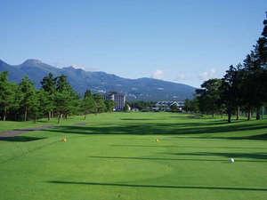 ウェルネスの森 那須:☆25那須ゴルフガーデン☆日本でも珍しい1ホール2ウェイ方式の那須連山を望む自慢のゴルフコース♪