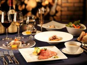 ウェルネスの森 那須:★ご夕食★旬の食材を楽しむ那須黒毛和牛フレンチディナー