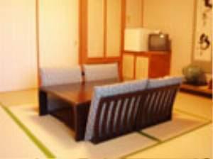 ゼロ磁場の宿 入野谷:四名様御利用の和室