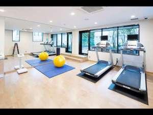ホテルマイステイズプレミア赤坂(2016年7月30日オープン):フィットネスジム
