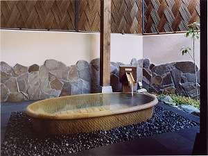 露天つぼ湯(有田川温泉光の湯 露天風呂)