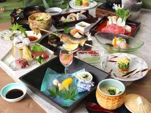 有田川温泉 鮎茶屋 ホテルサンシャイン:夏の味覚『懐石料理』
