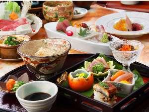 有田川温泉 鮎茶屋 ホテルサンシャイン:秋の彩り『懐石料理』