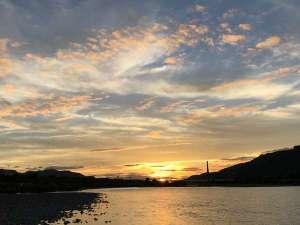 有田の夕景