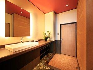 おやど みゆき別館:2階 リニューアル部屋(黄)洗面台1