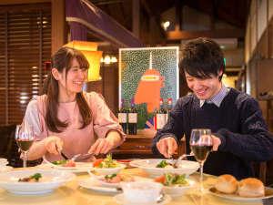 松本楼洋風旅館 ぴのん:◆ぴのんのご夕食は、気取らずお気軽にお楽しみいただけるフレンチ風懐石です。