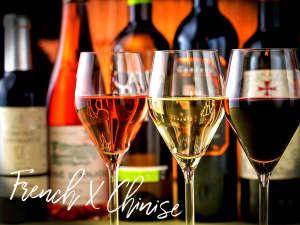 種類豊富な無農薬ワインフルーティーなものからしっかりと渋みを感じるものまで幅広くご用意。