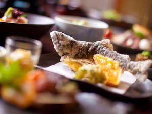 四季の彩りと旬の食材を満喫 宿房 翡翠之庄:■エノハの唐揚げ長湯名物♪