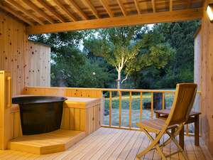 伊勢かぐらばリゾート 千の杜:とてもお値打ちな露天風呂付客室!