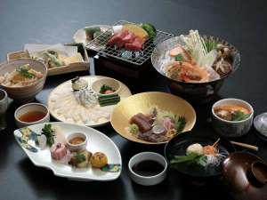 ホテルニュータナカ:地元の食材にこだわった和食会席。四季折々の味を、ご堪能下さい。