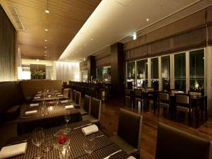ホテルトラスティ神戸旧居留地:朝食からランチ、ティータイム、ディナー、バー利用もできる「ビストロ・バー」