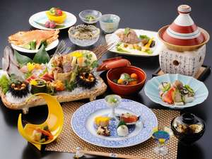 松島温泉 元湯 ホテル海風土:冬の海風土和食会席