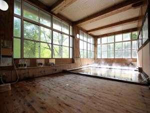 夏油温泉観光ホテル:内湯古代ひのき風呂