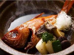 別邸 海と森:銚子と言えば!キンメ鯛煮つけ