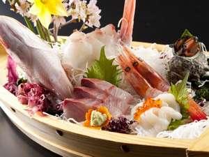あわら温泉 政竜閣:豪華舟盛で日本海を堪能