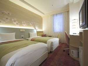 吉祥寺第一ホテル:ツイン(広さ18㎡・ベッド幅110cm