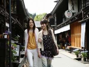 【古い町並み:徒歩約10分】江戸時代の赴きが今も残る素敵な通り