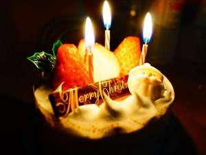 【ケーキ4号(直径12cm)3500円~】お誕生日・記念日にお気軽にお申し付けください。