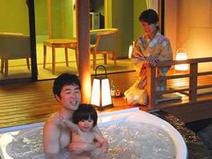 湯河原温泉 ホテル東横:「露天風呂付和洋室」お子様連れにも人気の客室
