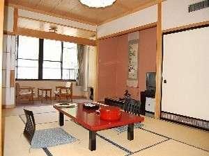 和室12畳&踏み込み3畳(ウォシュトイレ付/一例)