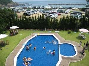 みち潮:宿泊者は無料で利用OK!水深0.9mと0.4mの2ヶ所あります。伊勢志摩で人気の海水浴場が目の前!
