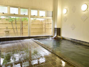 湖四季の宿 弁慶:大浴場