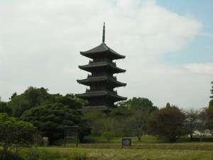 奈良時代に聖武天皇の発願によって創建された国分寺のひとつ