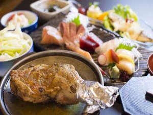 【二ノ松】 香川県のいいとこ取り♪ご当地さぬき骨付鶏と瀬戸の鮮魚お造り