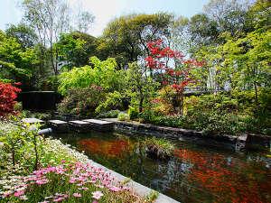 ・世界一の庭園デザイナーが手がけた景観を眺めながらお食事をお召し上がりいただけます