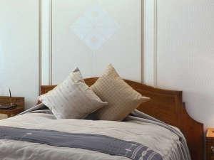 ・クッションや壁面などに博多織を使用した気品あふれる