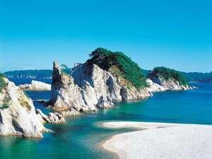 【浄土ヶ浜】陸中海岸を代表する名勝地『さながら極楽浄土の如し』