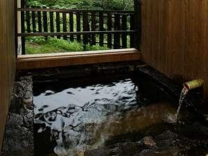 旅館ななかまど:客室半露天風呂の一例
