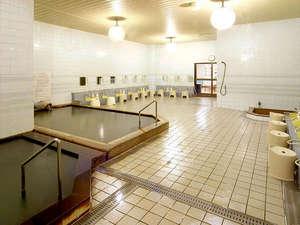 フロンティア フラヌイ温泉:*【大浴場(東の湯)】飲用も出来ますので、糖尿病や肝臓病・胃腸の弱い方に効果があります。