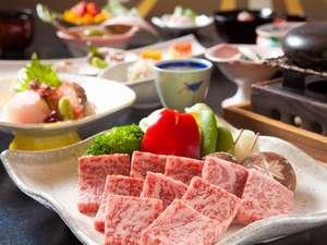 【選べるお料理】石焼牛でご堪能頂けるボリューム満点の豊後牛