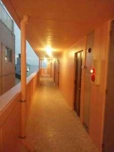 ■新館の廊下