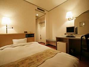 Hotel Sansui:デラックス・シングルルーム:ゆったりしたワンランク上のくつろぎ空間をご提供いたします。