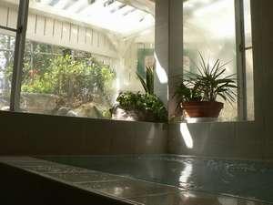 天然温泉がたっぷりはいったお風呂