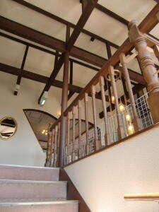 階段から見たプレイルーム
