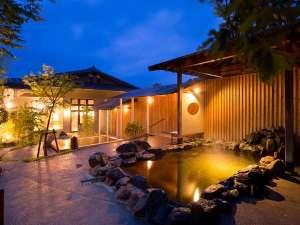 おとぎの宿 米屋:大浴場露天風呂【月】