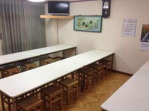 ビジネス旅館たかの家:食堂