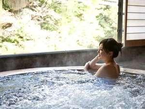 水上ホテル聚楽(じゅらく):【翠渓の湯】☆しっとり♪つるすべ美人の湯の水上温泉☆