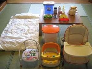 赤ちゃんプランの備品。