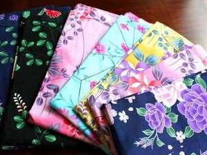 伊豆 網代温泉 松風苑:【女性限定】色々な柄の浴衣が選べる無料レンタルを実施中です♪
