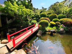 伊豆 網代温泉 松風苑:■四千坪の庭園■四季折々の花木が楽しめる約四千坪の庭園
