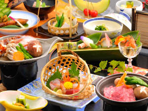 伊豆 網代温泉 松風苑:■料理■厳選した魚介類を中心にした会席料理。(イメージ)