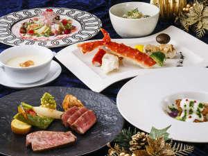 京都センチュリーホテル:クリスマス2017 鉄板焼きディナー